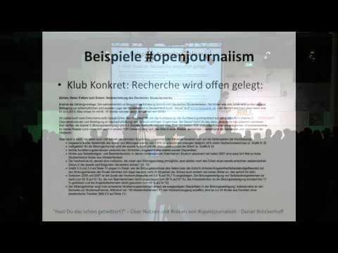 """re:publica 2013 - Daniel Bröckerhoff: """"Hast Du das schon getwittert?"""" - Über Nutzen und Risiken von on YouTube"""