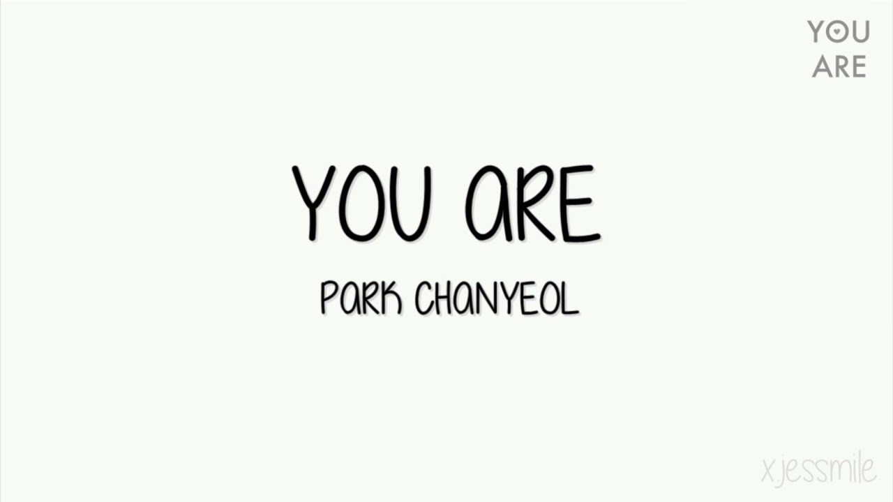 chanyeol you are sub