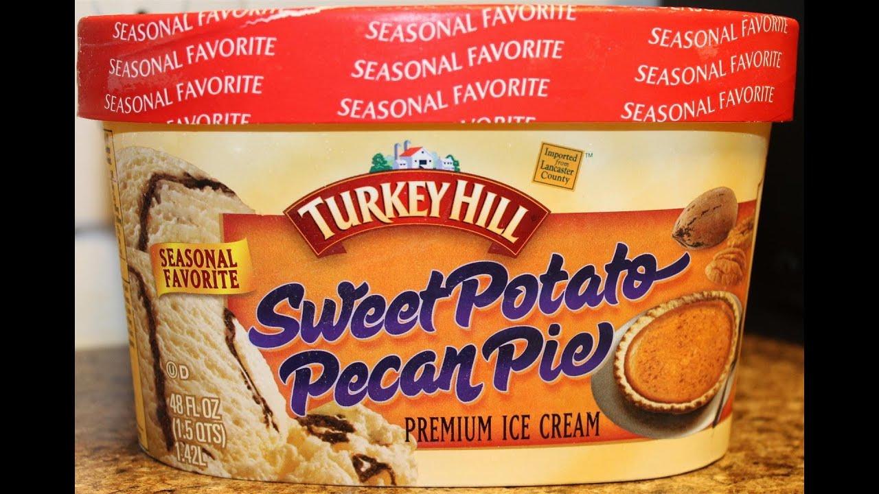 Turkey Hill Sweet Potato Pecan Pie Ice Cream Review Youtube