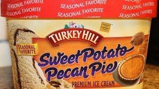 Turkey Hill: Sweet Potato Pecan Pie Ice Cream Review