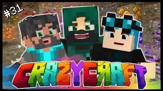 QUADRUPLE PACMAN ATTACK!! | Ep 31 | Minecraft Crazy Craft 3.0