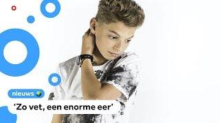 Pieter Gabriel (15) maakt nummer voor het Songfestival