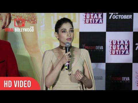 Tamannaah Bhatia Full Speech | Tutak Tutak Tutiya Official Trailer