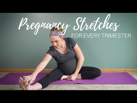 Pregnancy Stretching Routine | Best Stretches to Relieve Pregnancy Symptoms!