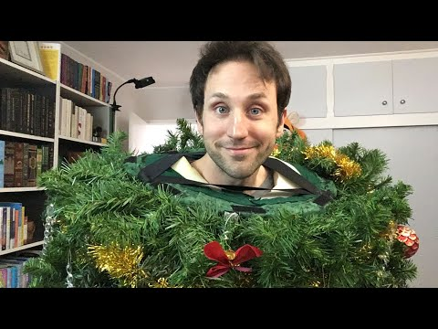 LIVE 🎄 tree costume, book unboxing, why I didn't vlog in 2017