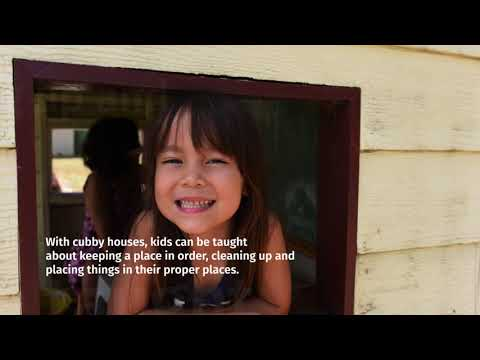 Cubby Houses for Kids' Learning and Exploration | Cedar Shed