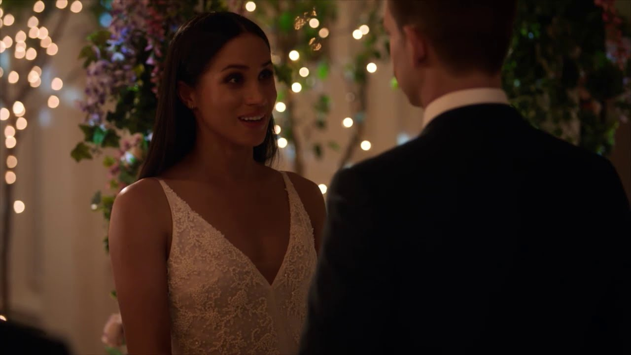 Meghan Markle Wedding Scene