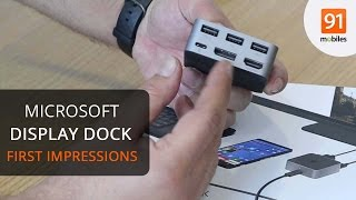 Microsoft Display Dock unboxing and first impressions
