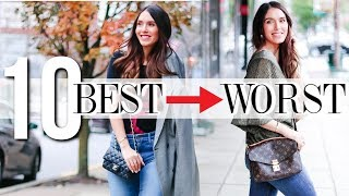Ranking My Designer Crossbody Bags BEST to WORST!