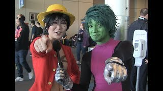 What VIDEO GAME Should BEAST BOY Get RAVEN? Cosplay at PAX East 2019