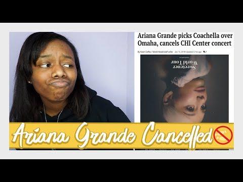 Ariana Grande Cancelled My Sweetener World Tour Date...