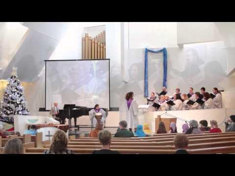 African Noel presented  the Chancel Choir, First Presterian Church, Encino