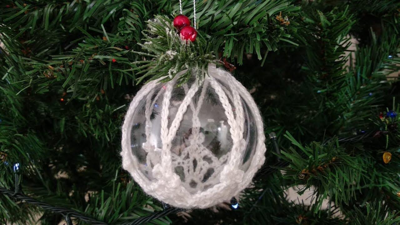 spesso Pallina di Natale Uncinetto Tutorial 🤍🎄 Christmas Ball Crochet JZ75