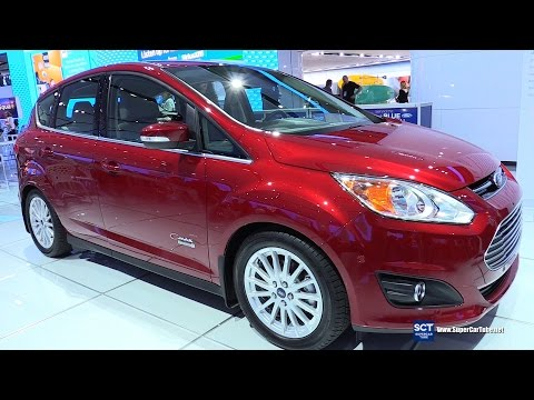 2016 Ford C-Max Energy - Exterior And Interior Walkaround - 2016 Detroit Auto Show