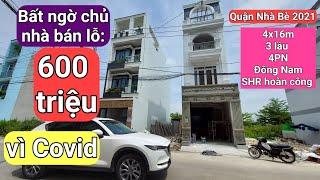 Chủ bán lỗ 600 triệu vì covid ∆ Bán nhà Nhà bè Chính chủ ∆ bán nhà quận 7 Nhà Bè ∆ Nhà nhà bè giá rẻ