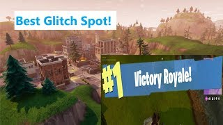 Fortnite Battle Royale : BEST GLITCH/HIDING SPOT
