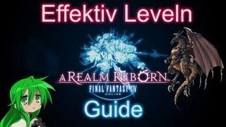 Guide / Tutorial - Final Fantasy XIV A Realm Reborn - Effektiv Leveln Questen - FFXIV ARR 2.0