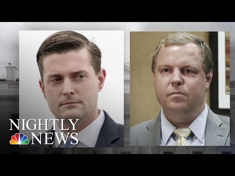 Two White House Employees Out Amid Domestic Abuse Allegations | NBC Nightly News