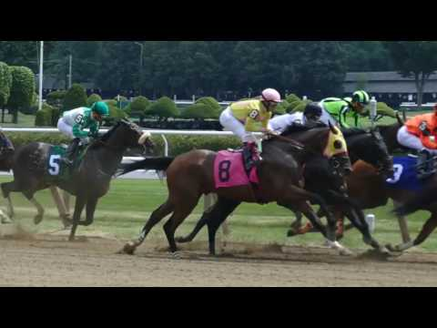 Saratoga Racetrack, the first race of the 2016 Meet