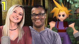Aerith & Barret Remake Voice Actors Play Final Fantasy VII - Briana White & John Bentley
