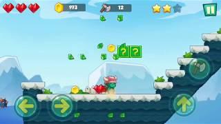 Jungle Adventures: Super World   Ice Field   Gameplay Video Walkthrough part 9