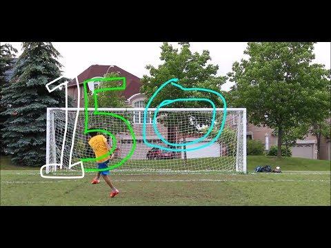 Celebrating Canada 150! Soccer Goalscoring Video! *HD* Quality