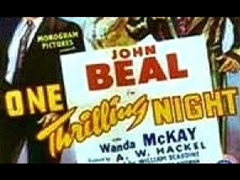 One Thrilling Night aka Horace Takes Over (1942) - Full Movie