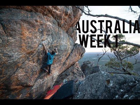 Bouldering in Australia - Week 1
