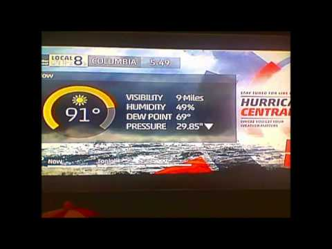 Columbia, SC Local on the 8s (9/1/16): Hurricane Hermine Impact