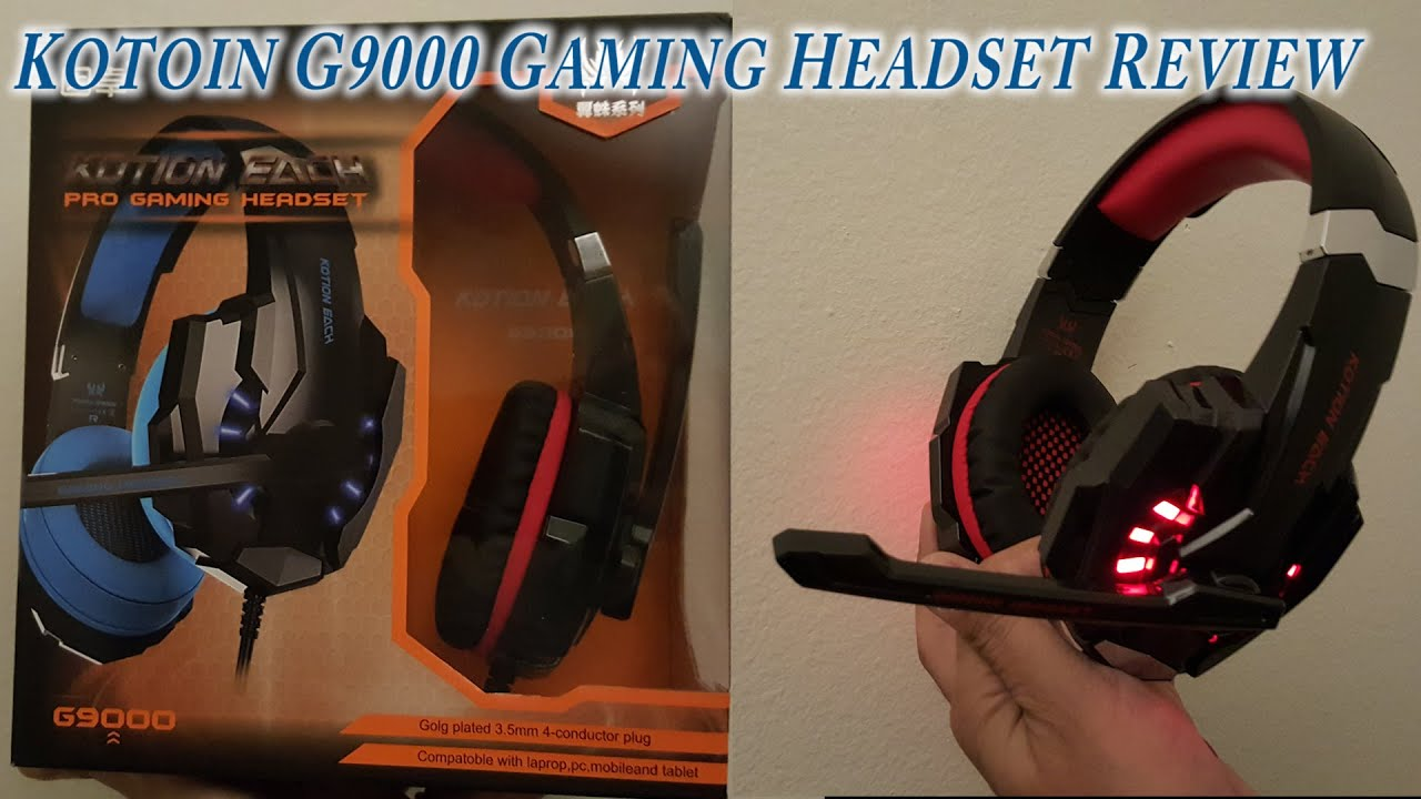 Kotion Each G9000 Stereo Gaming Headset For 25 Great Deal Youtube