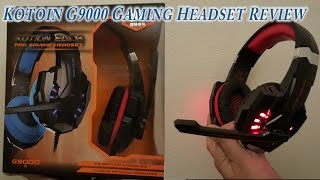 KOTION EACH G9000 Stereo Gaming Headset for $25 great deal