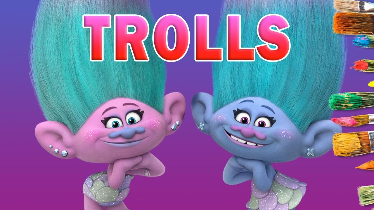 Satin and Chenille Trolls Movie