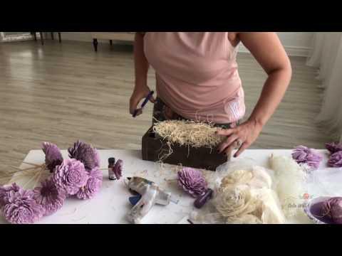 Centerpiece Craft Kit Tutorial | Sola Wood Flowers