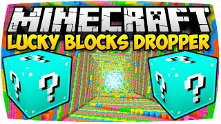 MINECRAFT: BLUE LUCKY BLOCKS DROPPER 2 | Nunan » Lucky Block Mod Deutsch