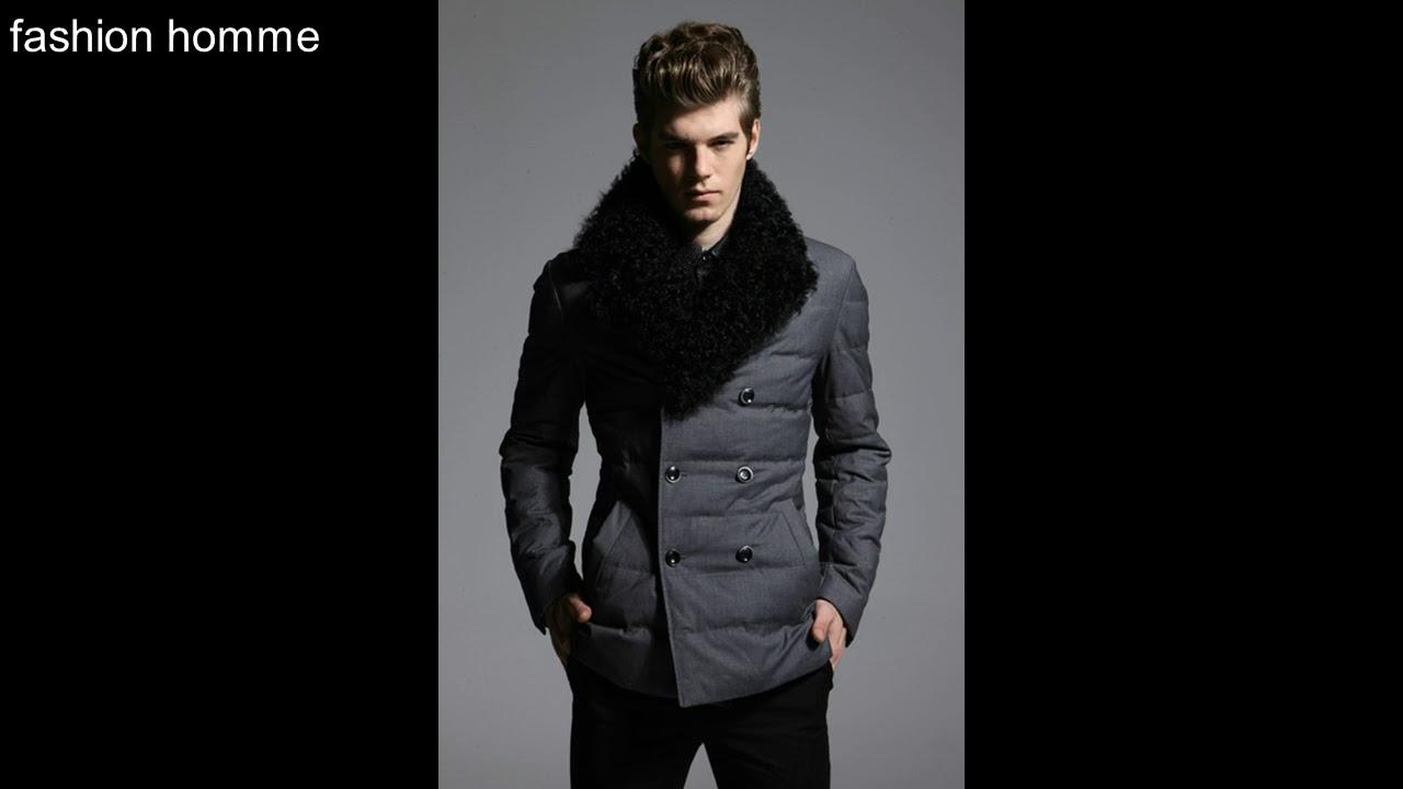 8838c6eb419c vêtements d hiver pour homme   style 2018 2019 fashion homme - YouTube