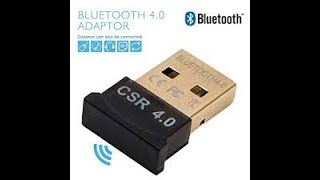 Bluetooth CSR 4.0 dongle!!!Unboxing and Review!!!Tech Shujan
