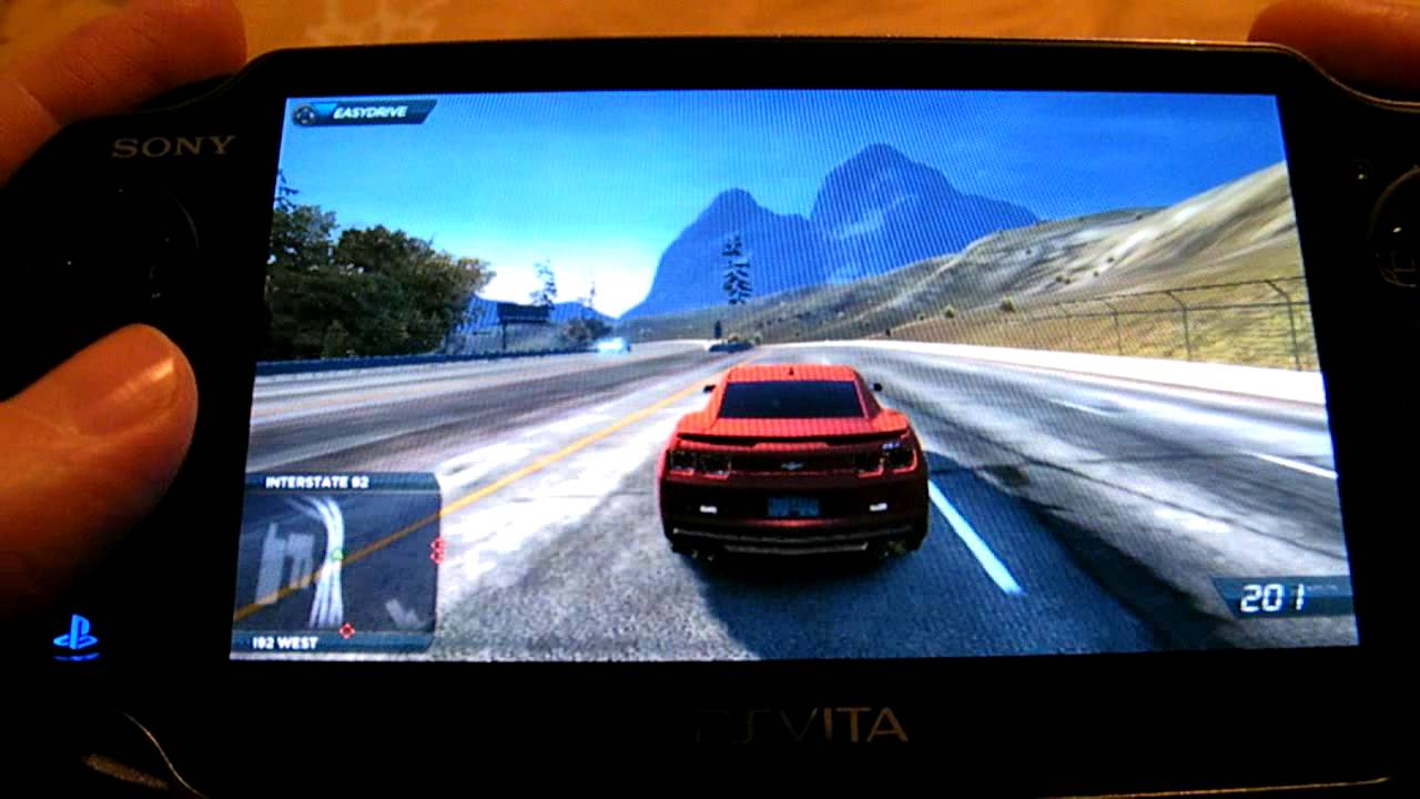 Archos gamepad: need for speed most wanted VS...