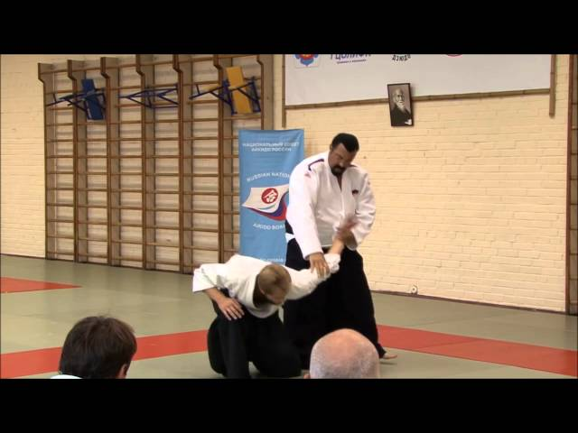 Steven Seagal Seminar Russia 2015