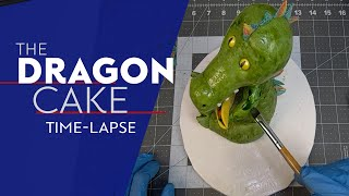 Dragons Love Tacos Cake Time-Lapse creation