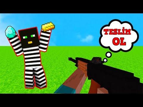 HIRSIZ VS POLİS #1 - (Minecraft)
