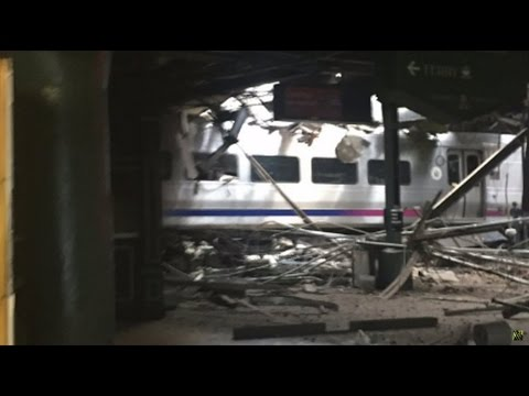 Train Crashes Through New Jersey's Hoboken Station, Multiple Injuries