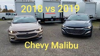 2018 Chevy MALIBU vs 2019 Chevy MALIBU - 6 BIG DIFFERENCES - Here is what's new!