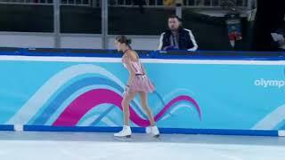 Анна Фролова Короткая программа Зимние юношеские олимпийские игры 2020