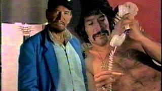 Jason King 1990s TV screening ad with peter wyngarde