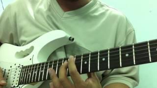 Cách áp dụng âm giai DIMINISHED khi solo guitar - học đàn guitar - học solo guitar