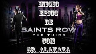 SaintsRow#Começo epico#Com Sr Alakaza