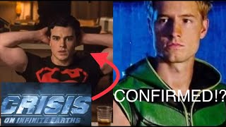 Titans and Smallville Green Arrow CONFIRMED for Crisis on Infinite Earths!? + MORE!