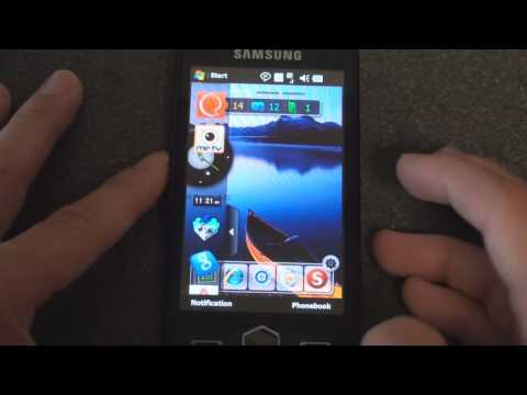 Samsung Omnia II i8000 New Widget Interface
