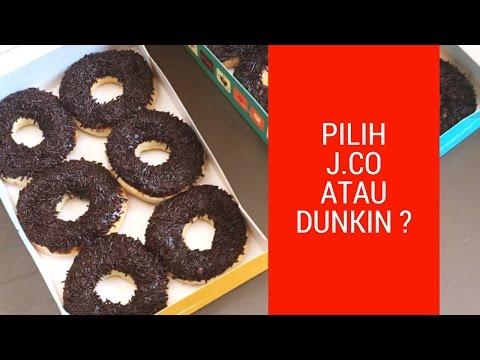 DUNKIN DONUTS VS J.CO DONUTS INDONESIA