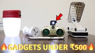 Unique Gadgets Under Rs500 | Part 21 | Tech Unboxing 🔥